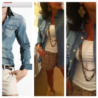 Sheaffer Told Me To Operation Denim Shirt:  Look #3 - Too soon?