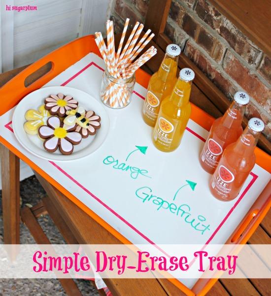 Hi Sugarplum | Dry Erase Tray