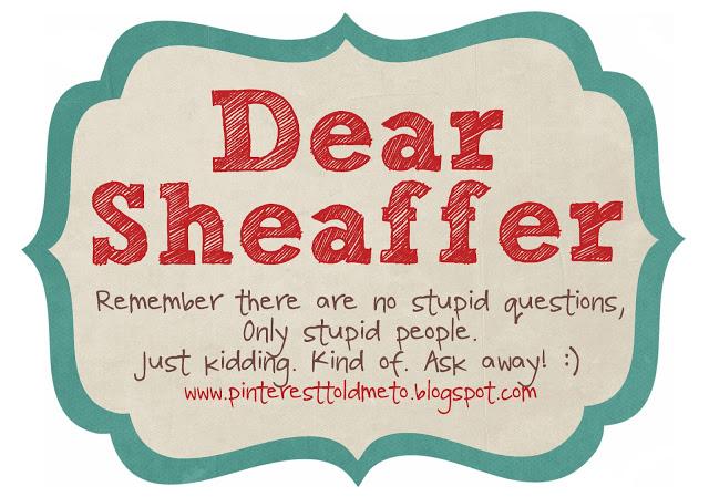 Sheaffer Told Me To Dear Sheaffer:  It's a Purse-a-Palooza