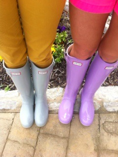 Sheaffer Told Me To An Epic Tale of Hunter boots....AWESOMENESS OVERLOAD at Nordstrom...and a link to a GIVEAWAY!