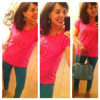 Sheaffer Told Me To Style Soiree:  Lilly Pulitzer.....and a pair of TO DIE FOR nude flats!  :)