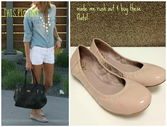 Sheaffer Told Me To We all NEED nude flats!  Duh!