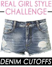 Real Girl Style Challenge: Denim Cutoffs