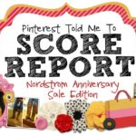 Pinterest Told Me To SCORE REPORT!!!  This is gonna be good.  :)