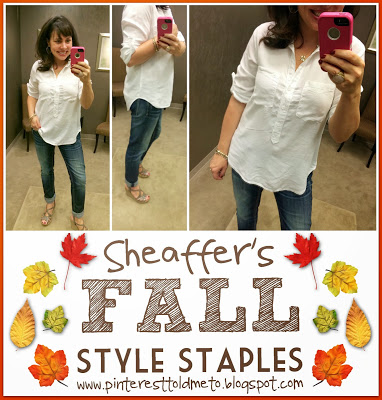 Sheaffer Told Me To A Fall Style Staple Announcement