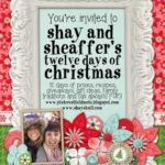 On the 12th Day of Christmas:  Shay and I want to celebrate our awesome readers!