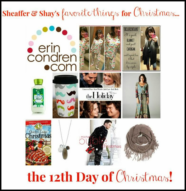 Sheaffer Told Me To On the 12th Day of Christmas:  Shay and I want to celebrate our awesome readers!