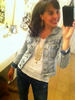 Sheaffer Told Me To Denim on Denim.  Yeah, I'm Going There.