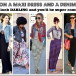 MAXI DRESS FOR THE WIN!!!  Your Guide To Looking Tall and Skinny.