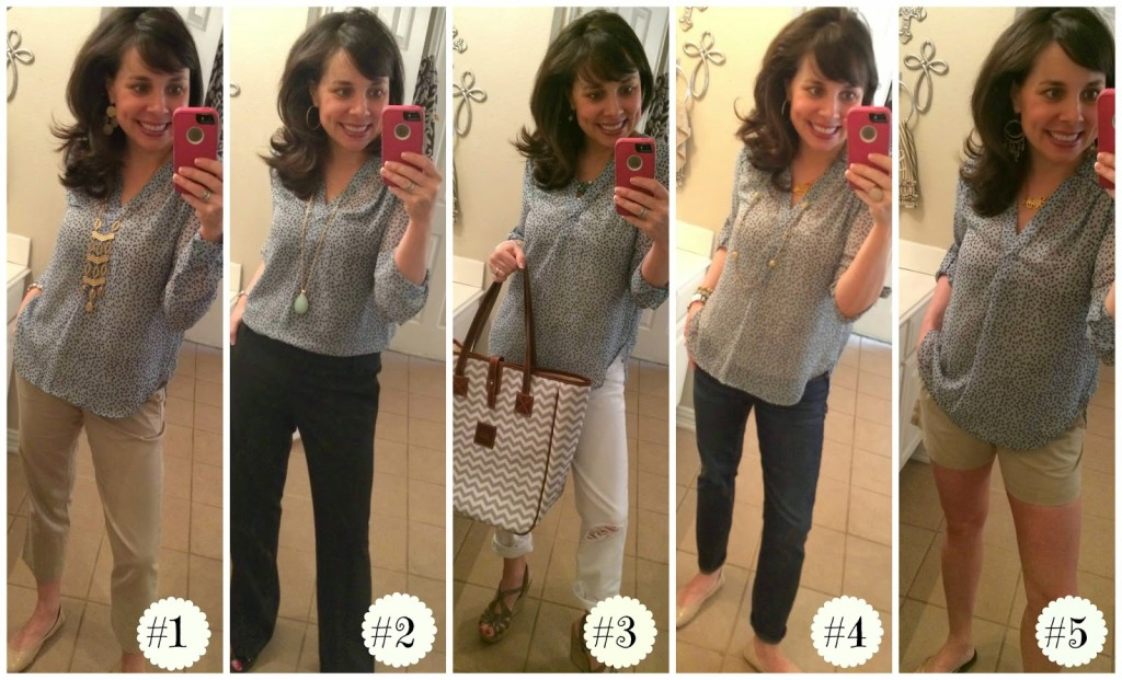 Sheaffer Told Me To 1 Shirt, 5 Ways!