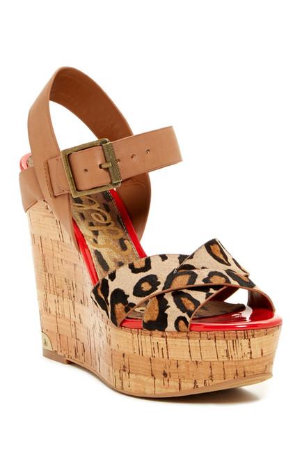 Sasha Platform Wedge Sandal