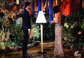 Sheaffer Told Me To Andi's Bachelorette Premiere #ilovelamp  #unfortunatehair  #ginghamlove