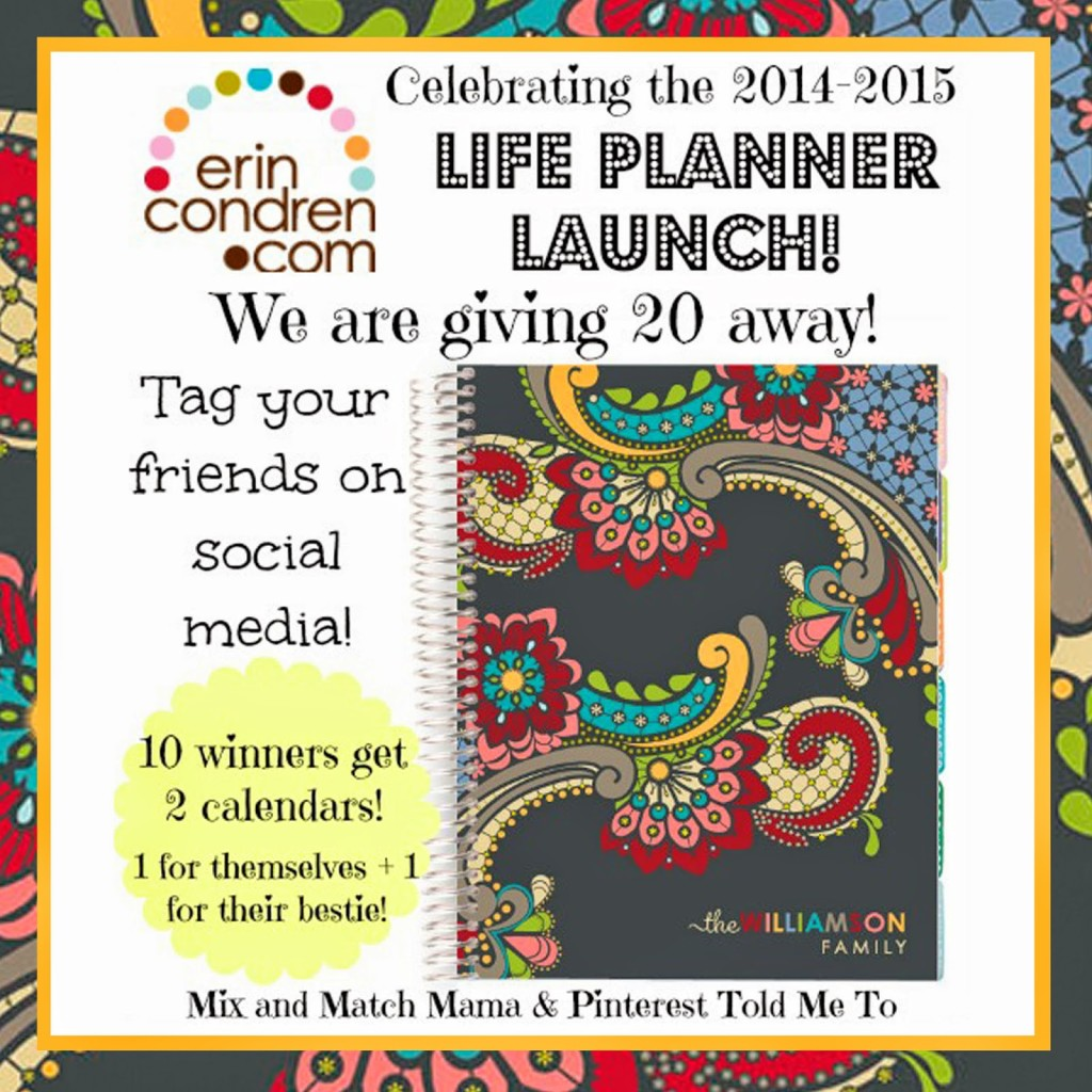 Sheaffer Told Me To Erin Condren Giveaway!  SHUT THE FRONT DOOR!  (and some new sale items!)
