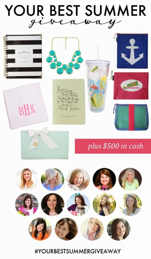 THE ULTIMATE SUMMER GIVEAWAY! And Some Summer Favorites of my own!