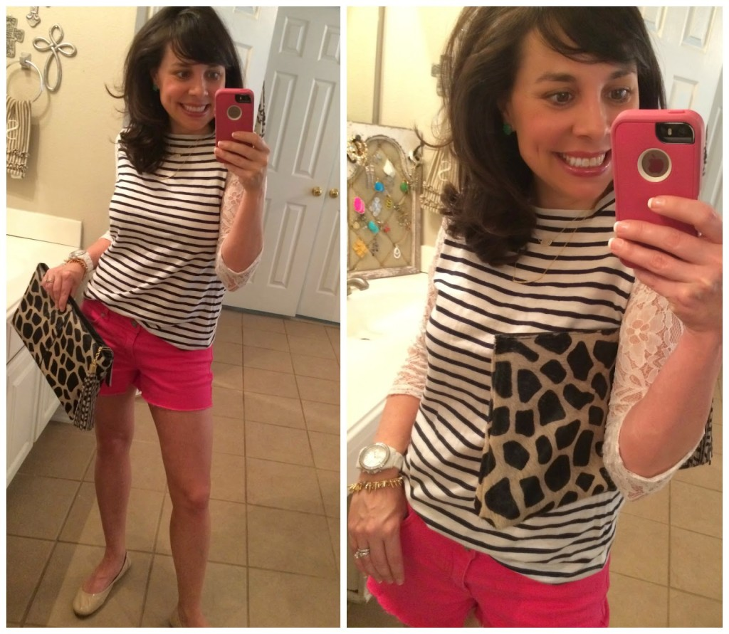 Sheaffer Told Me To Stripes, Lace, Hot Pink, and Leopard.  Finally.