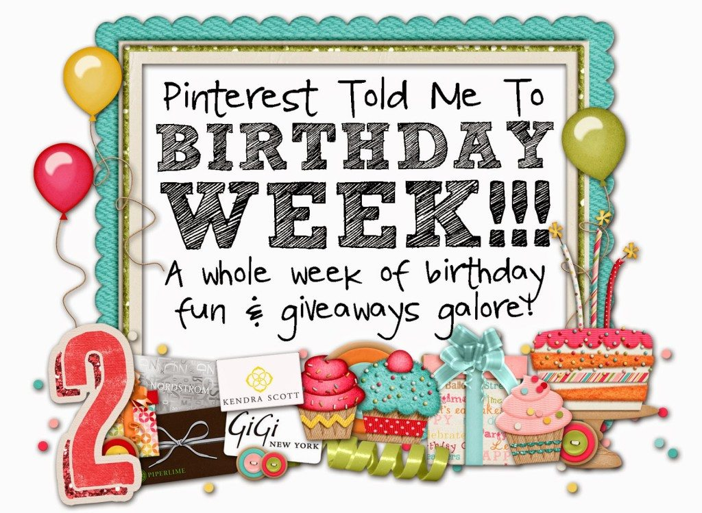 Happy Birthday To US with PIPERLIME!!!!  $500 GIVEAWAY!