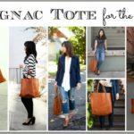 Splurge vs. Steal #1:  Cognac Tote