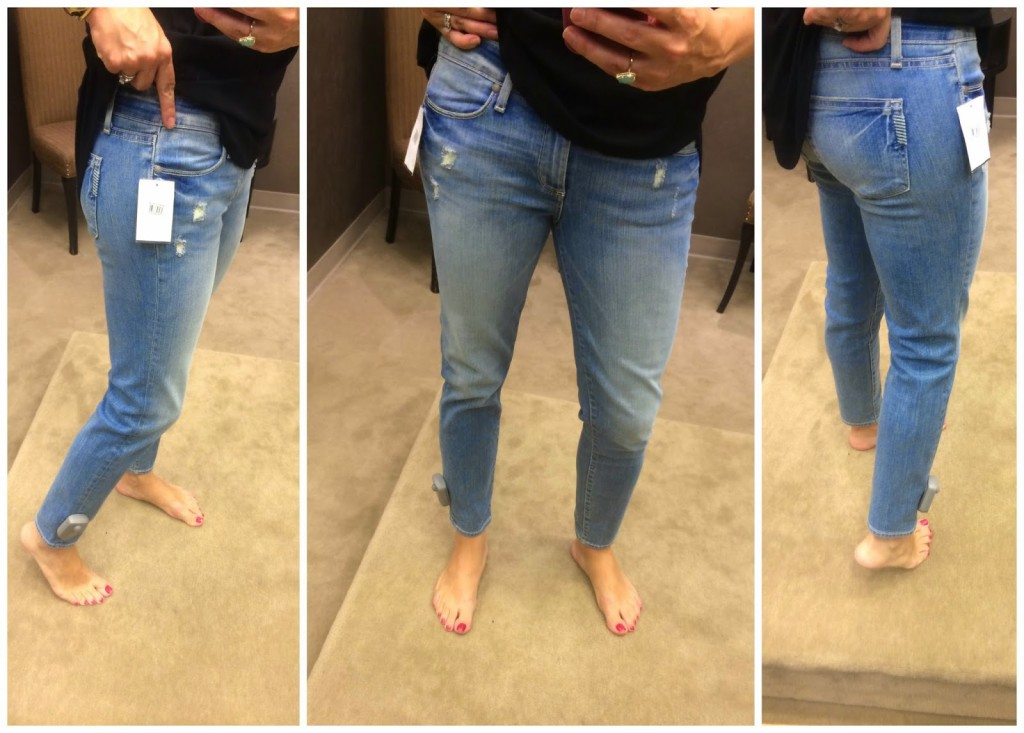 Or if you are ore interested in a dark denim, click HERE for the Paige  Kylie jean in darker colors.