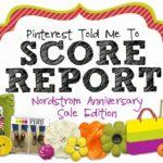Score Report:  Nordstrom Anniversary Sale