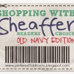 Shopping with Sheaffer:  OLD NAVY Edition!