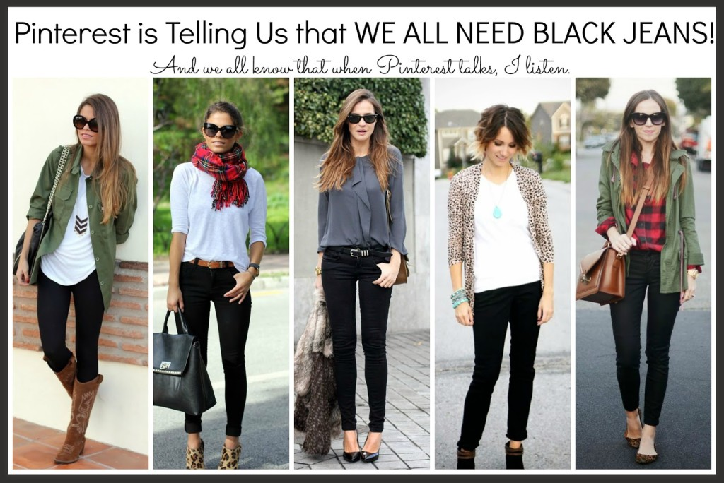 Black Jeans? Really? YES MA'AM! — Sheaffer Told Me To