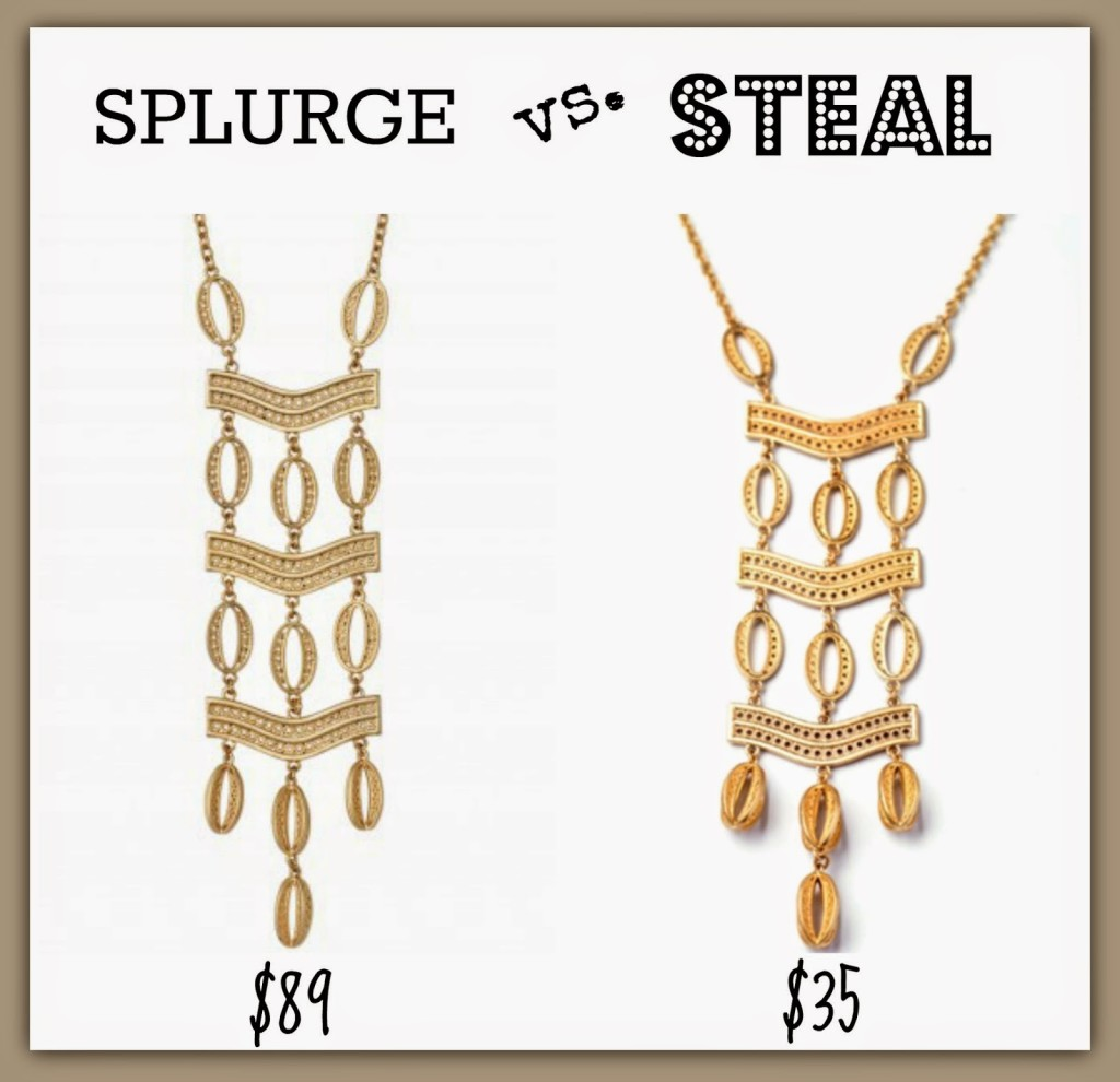 Sheaffer Told Me To Splurge Vs. Steal #2:  The Kimberly Necklace