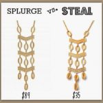 Splurge Vs. Steal #2:  The Kimberly Necklace