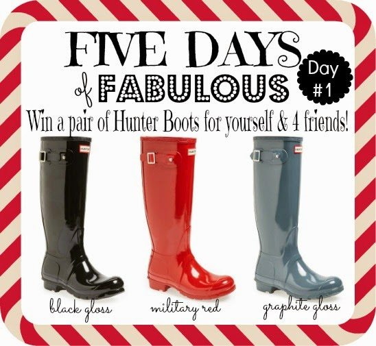 FIVE DAYS OF FABULOUS Day #1 GIVEAWAY and BEST CYBER MONDAY DEALS!