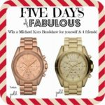 Five Days of Fabulous Day #2 , WATCH-A-PALOOZA, and some Santa Alerts!