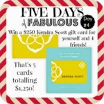 FIVE DAYS OF FABULOUS Day #4:  The Gift of BLING!  :)