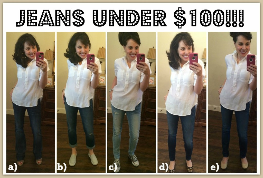 Sheaffer Told Me To Friday Favorites:  Jeans UNDER $100 and More!!!