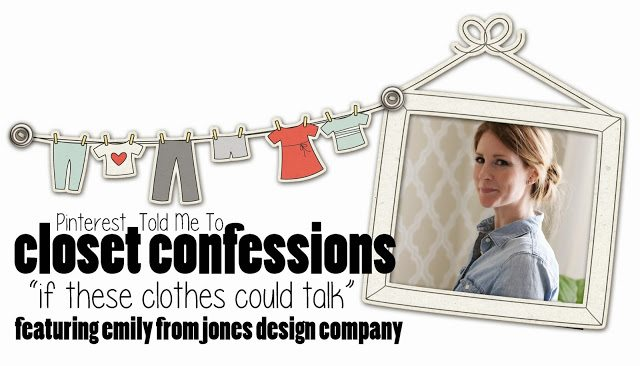 Sheaffer Told Me To Closet Confessions: Jones Design Company