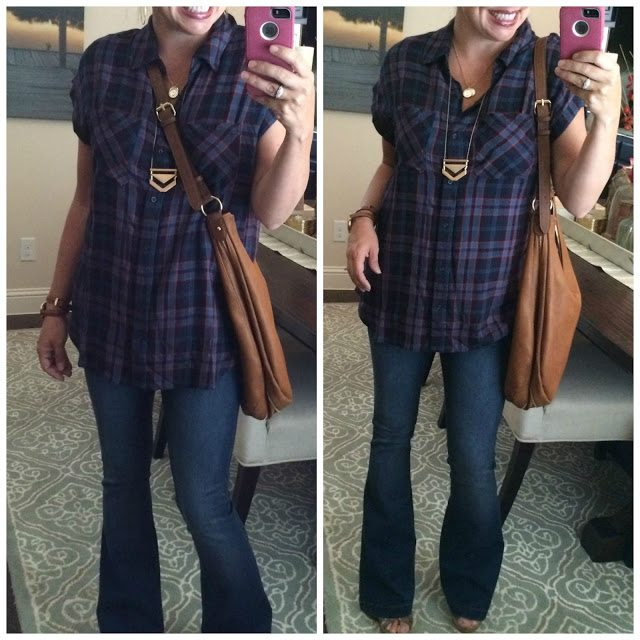 Sheaffer Told Me To Transitioning to Fall!  In Plaid!