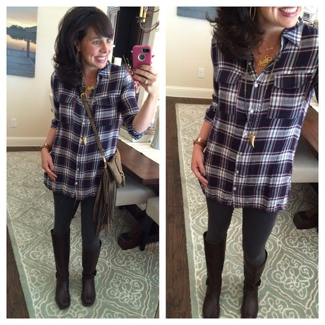 Sheaffer Told Me To PLAID:  1 Shirt, 5 Ways