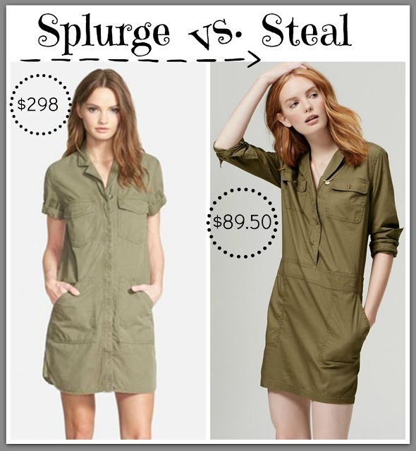 Sheaffer Told Me To Splurge Vs. Steal Flight Dress