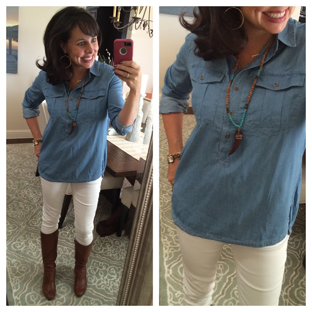 Sheaffer Told Me To Everybody Needs a Chambray Shirt!