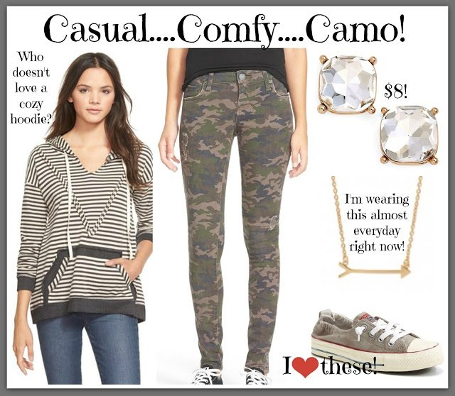 Sheaffer Told Me To CAMO LOVE:  Camo Pants Styled 3 Ways