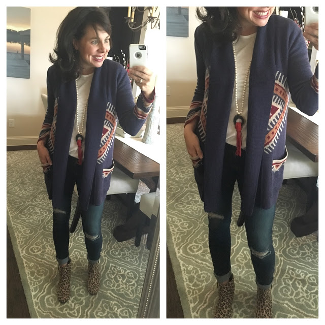 Sheaffer Told Me To 1 Cardigan, 4 Ways!