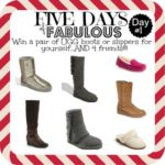 Five Days of Fabulous Day 1:  UGG® Giveaway and Cyber Monday Best Deals