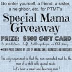Sheaffer Told Me To Meet Our Special Mom Penny!  And Check Out The Special Mama Prize Package!