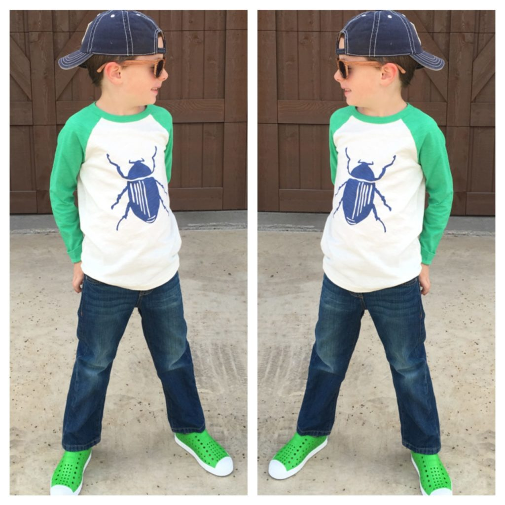 boy spring clothes and shoes