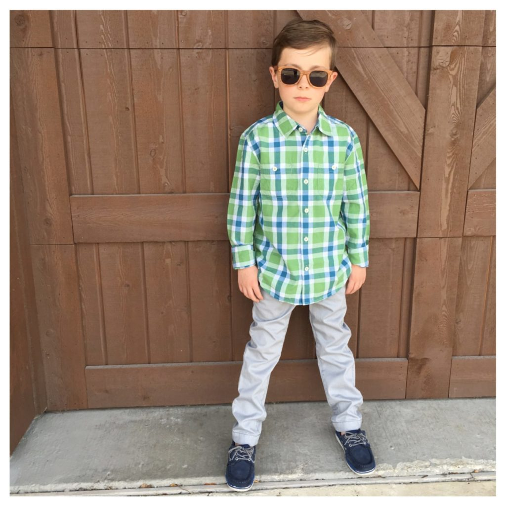 Easter outfit and shoes for boy