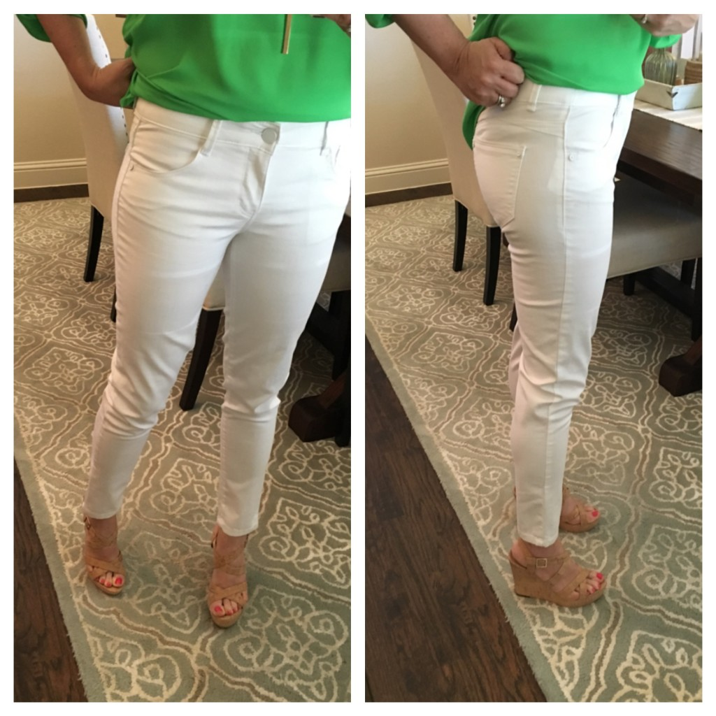best white jeans ever