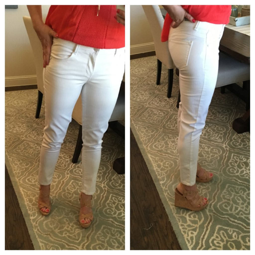 THE BEST WHITE JEANS! — Sheaffer Told Me To