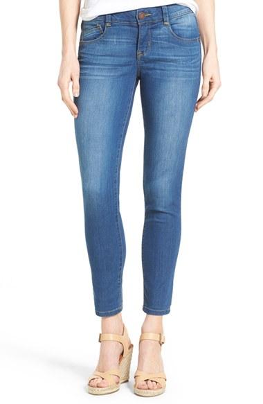 flattering blue jeans