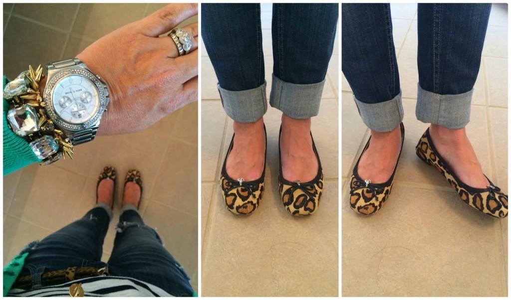 leopard flats
