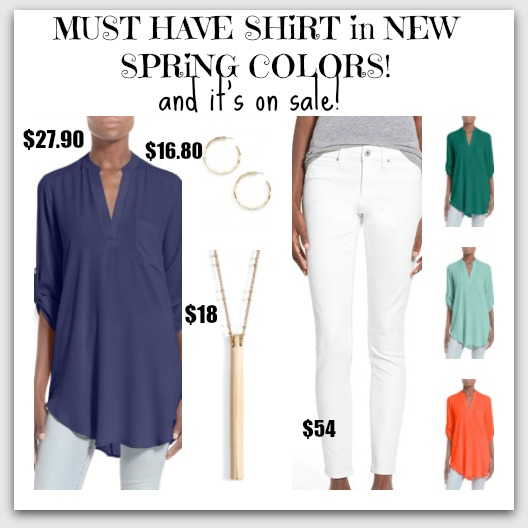 tunic and white jans
