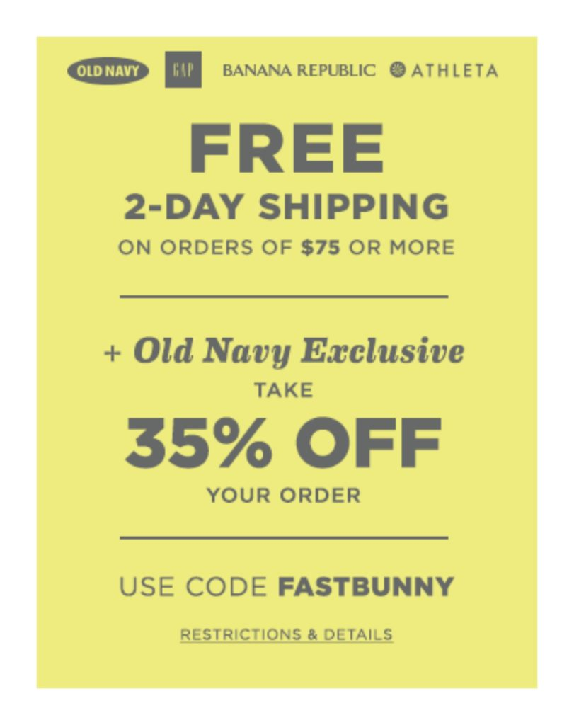old navy sale