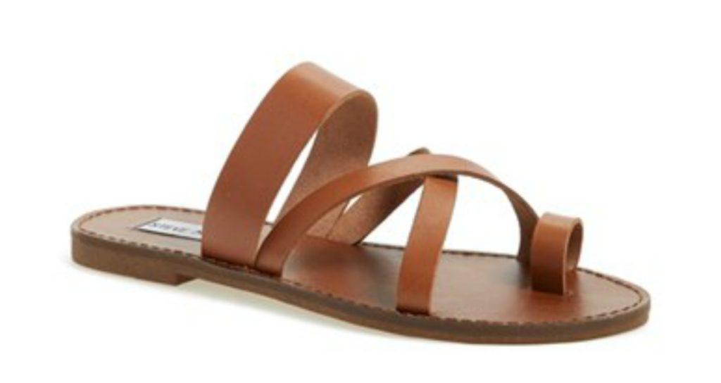 steve madden cognac sandals