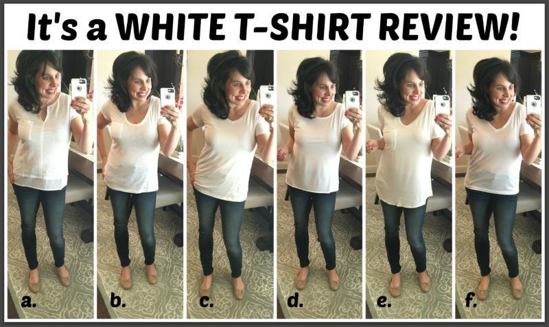 white t-shirt review